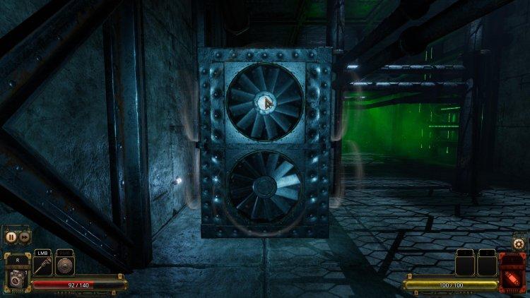 Vaporum: Lockdown - review - screenshot.