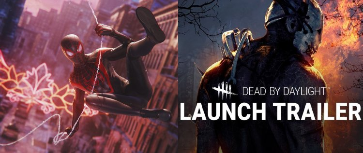 PlayStation launch trailers of Marvel's Spider-Man: Miles Morales and Dead by Daylight