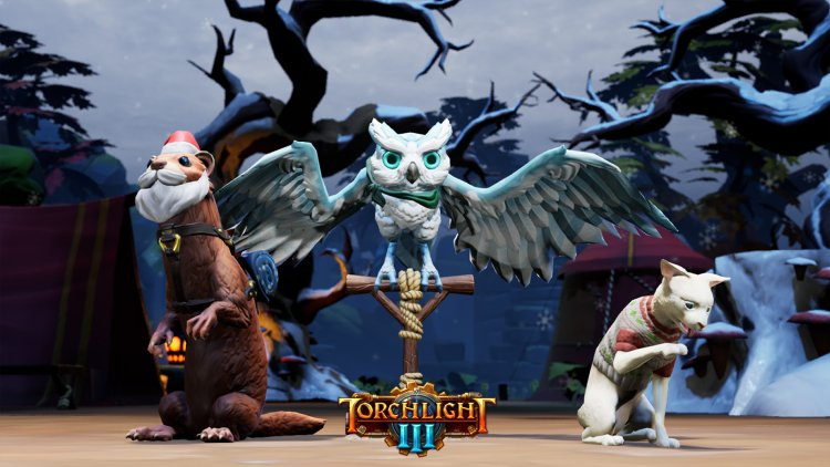 Torchlight 3 received 'Snow & Steam' update