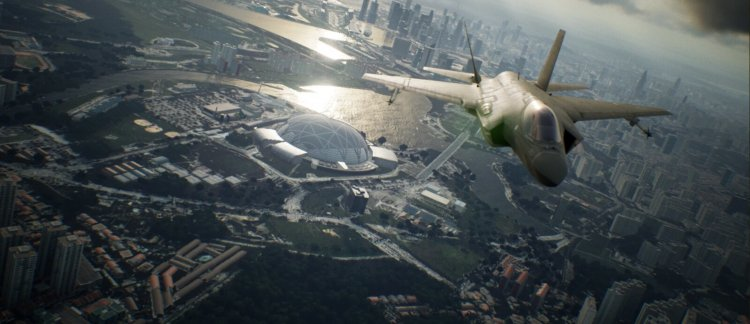 Ace Combat 7: Skies Unknown became the most popular game in the series, beating the result of Ace Combat 4