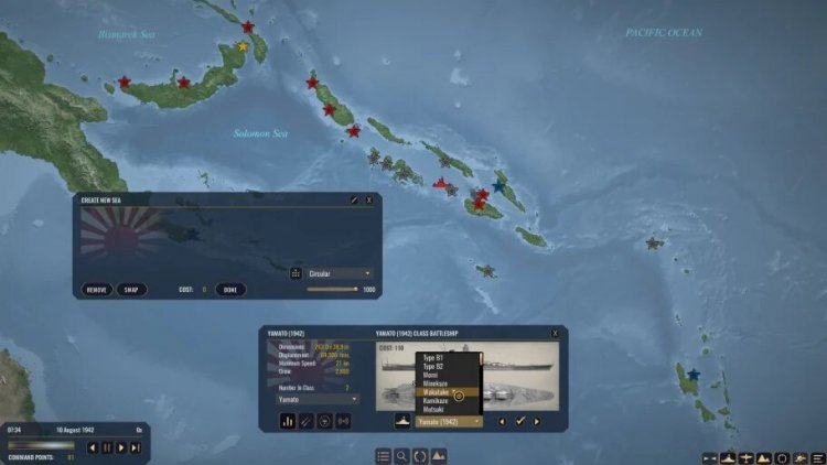 Dynamic campaign map. You'll have to get used to the interface.