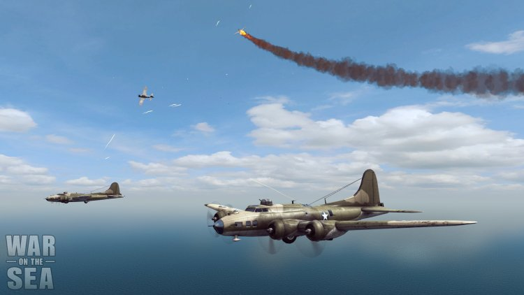 It is difficult to imagine a war in the Pacific without aviation. Watch the air battles in the game is much more interesting than the skirmishes of ships.