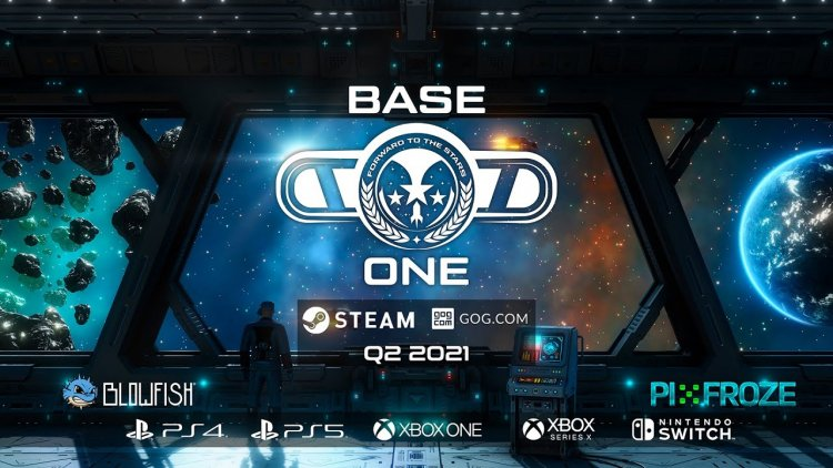 Base One - A space base management simulator has been announced