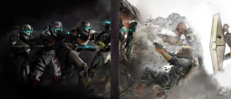 This is the way of the clone: The release of the remaster Star Wars: Republic Commando