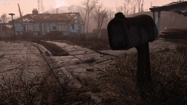Fallout 4 with super-graphics in 4K on RTX 3090