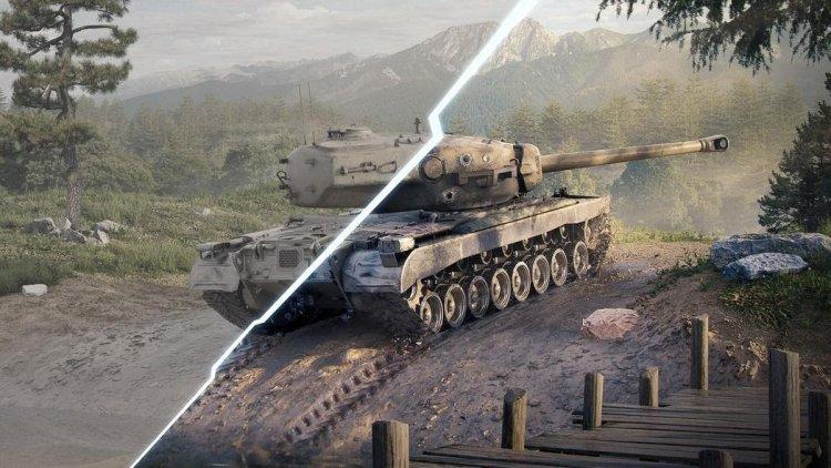 World of Tanks Blitz — how developers made dynamic suspension for tanks
