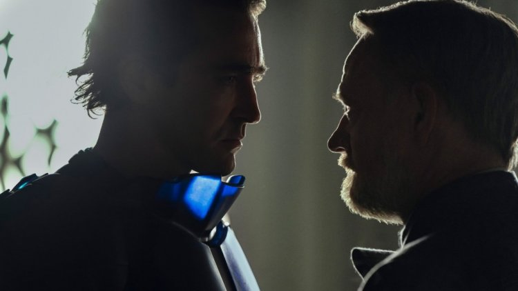 Left: Emperor Day (Lee Pace)