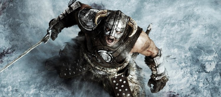The modder added new 8K textures to Skyrim, which he created manually. From such graphics, the frequency dropped immediately by 20 FPS